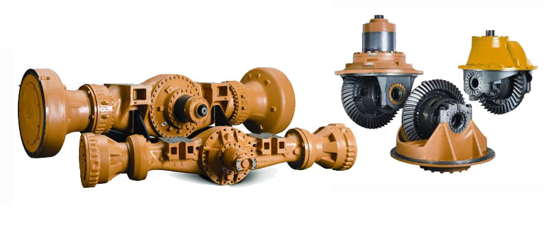 Complete Axle Rollouts & Differentials